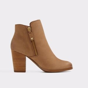 ALDO Ankle Boots Brown Leather